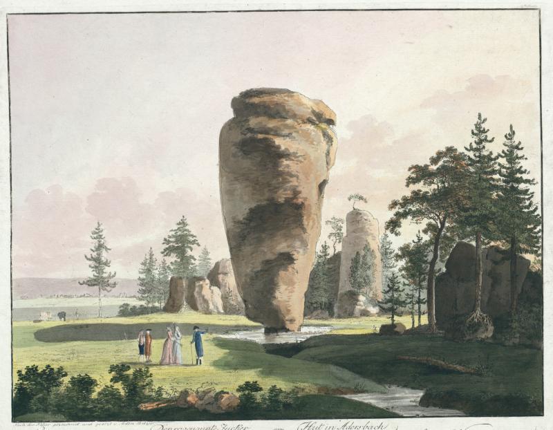 Anton Balzer, Der sogenannte Zucker Hut in Adersbach, 1794