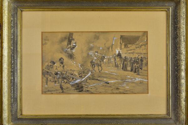 Upálení Michaela Servetuse Marold Luděk (1865–1898)