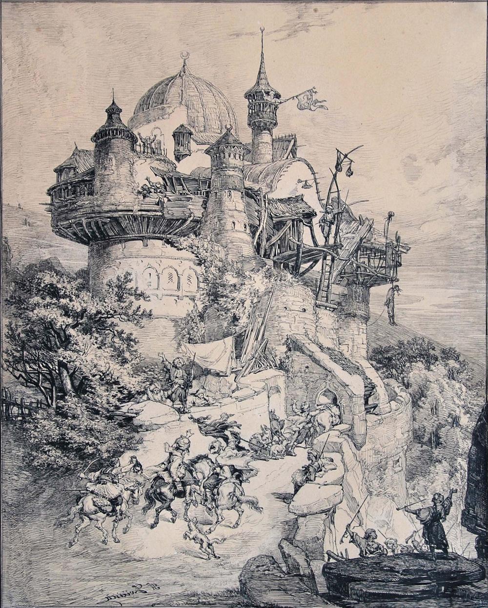 František Bohumír Zvěřina, Černá věž Solimanova v Hercegovině