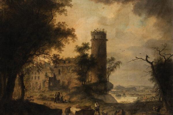 Karel Postl, Pohled na Klášter sv. Anny v Čechách