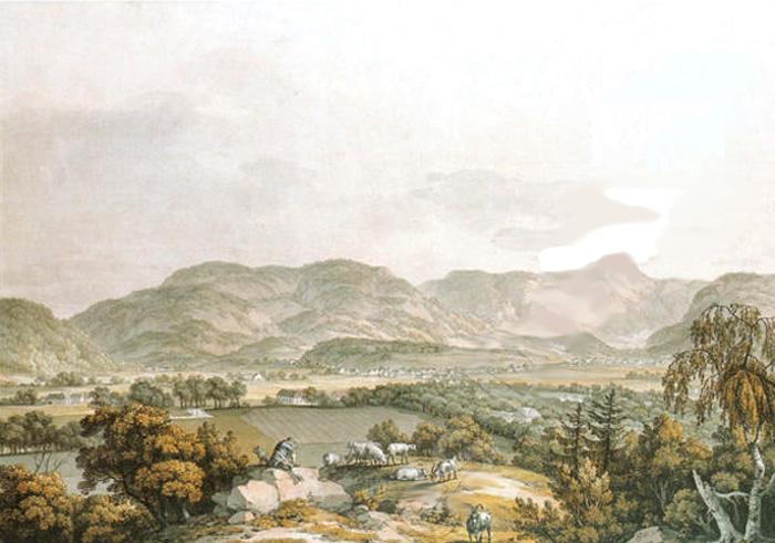 Karel Postl, Pohled na Krkonoše