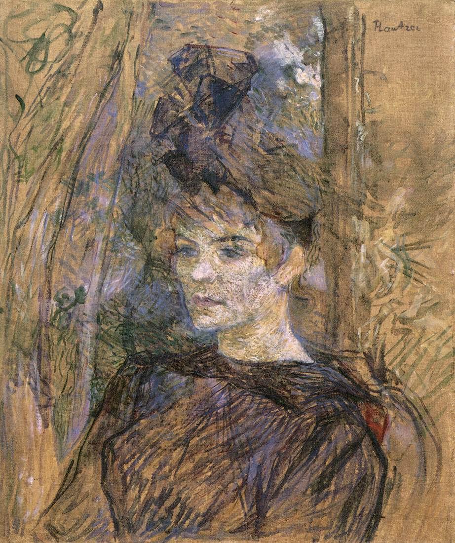 Henri de Toulouse Lautrec, Portrét Suzanne Valadon, 1887