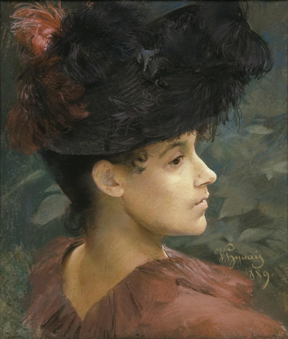 Vojtěch Hynais - Suzanne Valadon (1889)
